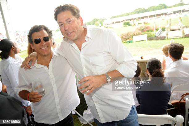 Andy Arons and John Howard attend DAVID YURMAN Celebrates the 34th Annual HAMPTON CLASSIC at The Grand Prix Tent on August 30 2009 in Bridgehampton NY