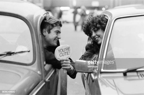 Andy Banks and his friend Ricky Churchill got the idea of using messages like this one to while away the time in rush-hour traffic jams on their way...