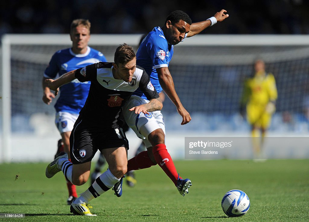 Portsmouth v Chesterfield - Sky Bet League Two