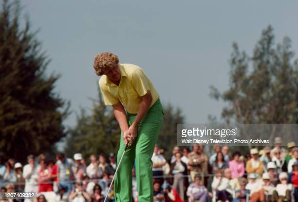Andy Bean competing in the 1977 PGA Tournament of Champions ABC Sports coverage