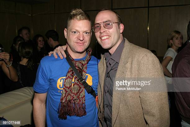Andy Bell and Erickson attend Kelly Osbourne DJ's at Charm School University at Marquee on April 25 2005 in New York City