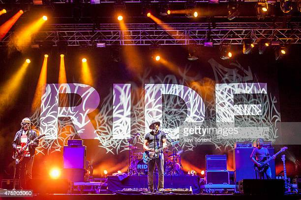 Andy Bell Mark Gardener Laurence Colbert and Steve Queralt of Ride perform on stage during the third day of Primavera Sound 2015 on May 29 2015 in...