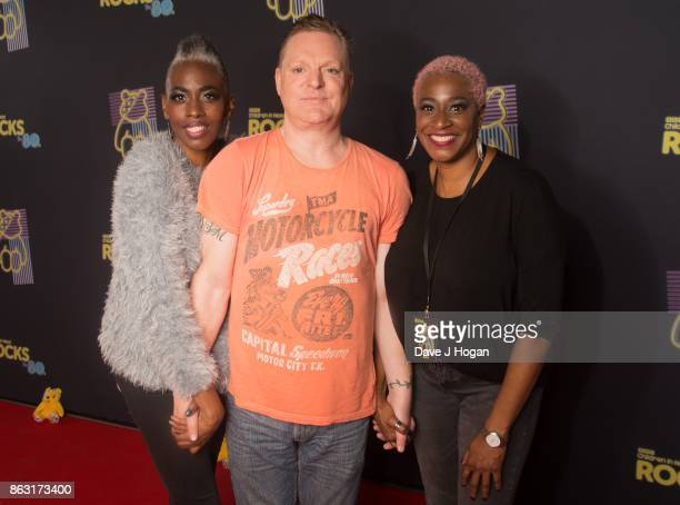 Andy Bell of Erasure is pictured at BBC Children in Need Rocks the 80s at SSE Arena on October 19 2017 in London England