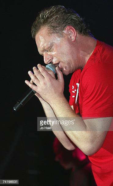 Andy Bell of Erasure performs at GAY at the Astoria on May 19 2007 in London