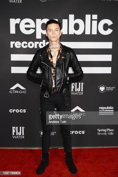 Andy Black attends Republic Records Grammy after party at Spring Place Beverly Hills on February 10 2019 in Beverly Hills California