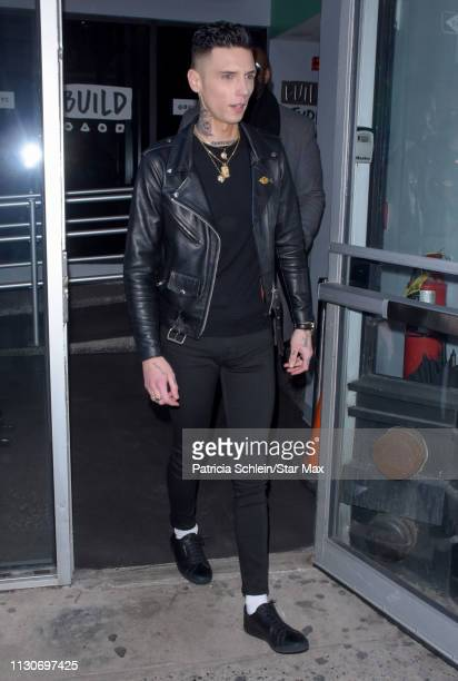 Andy Black is seen on March 14 2019 in New York City