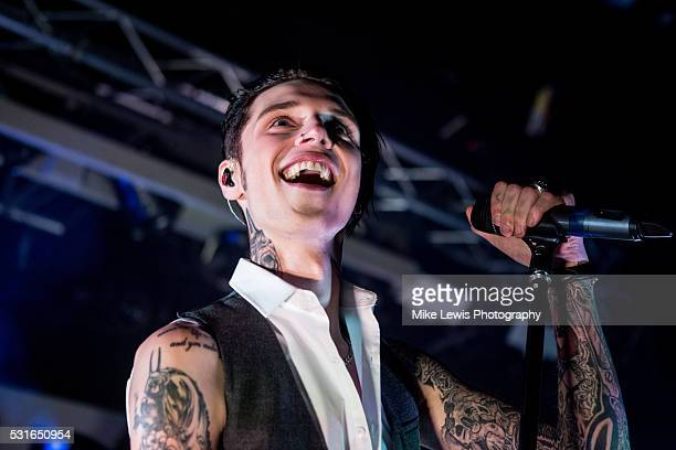 Andy Black performs on stage at Tramshed on May 15 2016 in Cardiff Wales