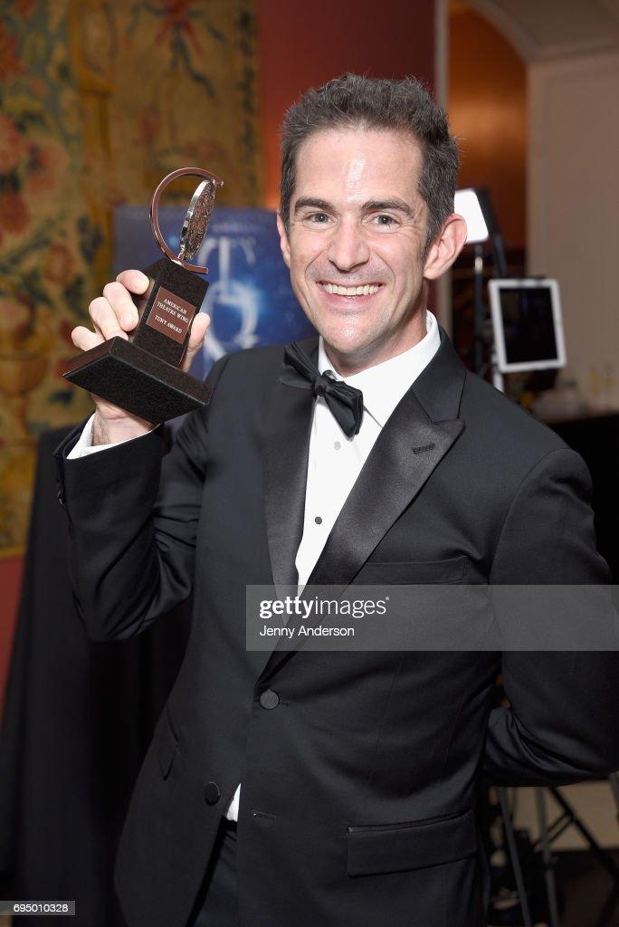 2017 Tony Awards - Media Room : News Photo