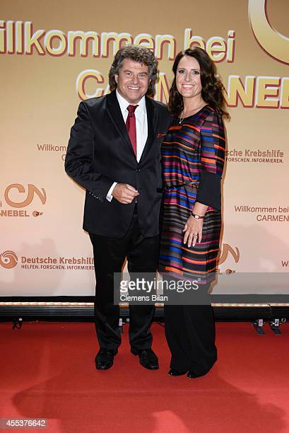 Andy Borg and Birgit attend the 'Willkommen bei Carmen Nebel' show at Velodrom on September 13 2014 in Berlin Germany