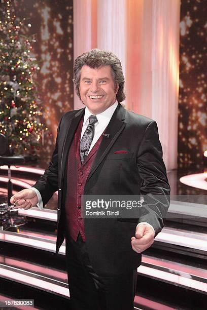 Andy Borg attends 'Die Schoensten Weihnachtshits Mit Carmen Nebel' Show on December 6, 2012 in Munich, Germany.