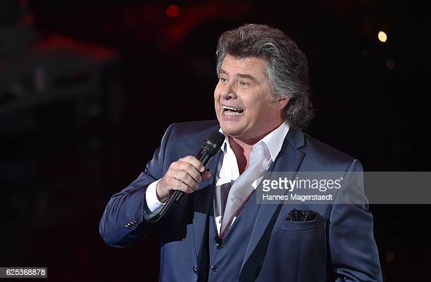 Andy Borg during the tv show 'Heiligabend mit Carmen Nebel' on November 23 2016 in Munich Germany The show will air on December 24 2016