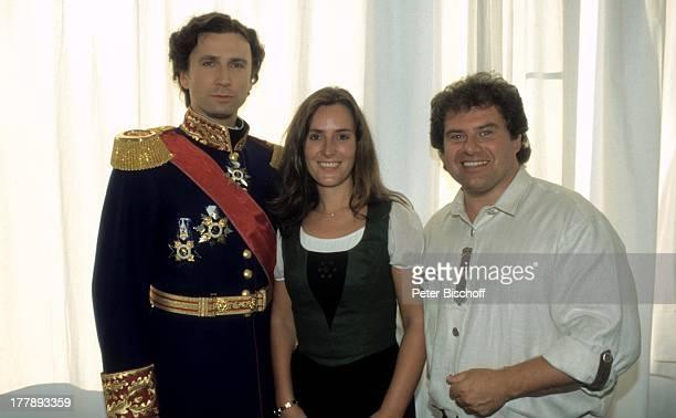 Andy Borg Ehefrau Birgit Julian Tovey als König Ludwig Darsteller vom Musical MusicalTheater Neuschwanstein Schwangau Bayern Deutschland Europa...