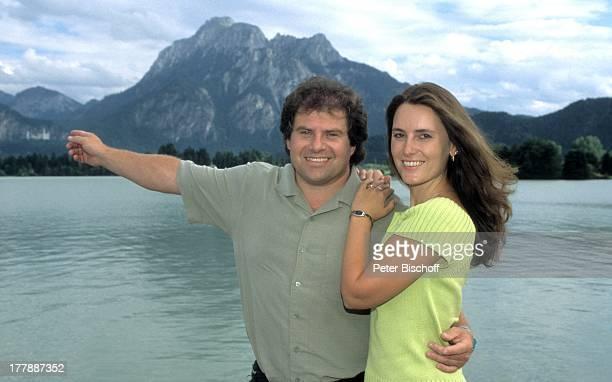 Andy Borg Ehefrau Birgit Oberstdorf / Füssen Bayern Deutschland Europa Urlaub Berge See VolksmusikModerator Sänger Musiker