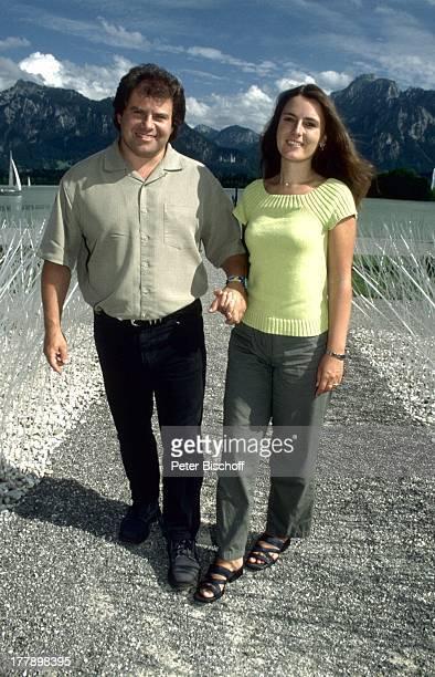 Andy Borg Ehefrau Birgit Oberstdorf / Füssen Bayern Deutschland Europa Urlaub VolksmusikModerator Sänger Musiker