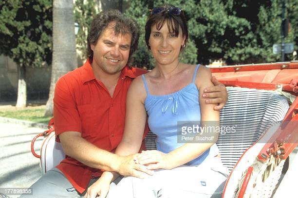 Andy Borg Ehefrau Birgit Palma de Mallorca Balearen Spanien Europa Kutschfahrt Urlaub VolksmusikModerator Sänger Musiker