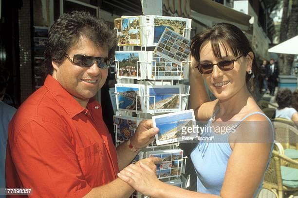 Andy Borg Ehefrau Birgit Palma de Mallorca Balearen Spanien Europa Postkarten Postkartenstand Urlaub VolksmusikModerator Sänger Musiker