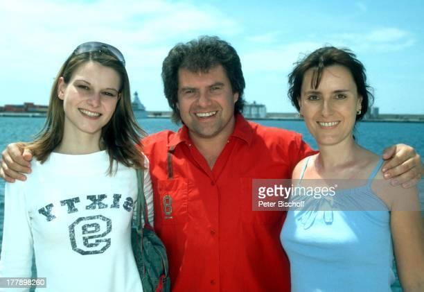 Andy Borg Ehefrau Birgit Schwägerin Michaela Kreuzfahrt Hafen Palma de Mallorca Balearen Spanien Europa Schiff Kreuzfahrtschiff Urlaub...