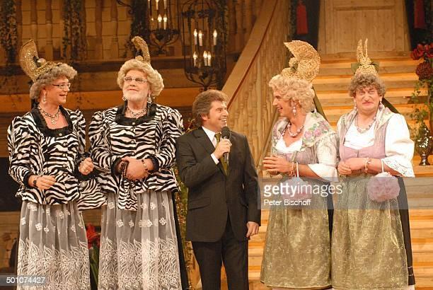 """Andy Borg , """"Waltraud und Mariechen"""" - Comedy-Duo """"Heißmann & Rassau"""" alias Volker Heißmann und Martin Rassau , Gunther Emmerlich , Florian..."""