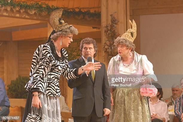 """Andy Borg , """"Waltraud und Mariechen"""" - Comedy-Duo """"Heißmann & Rassau"""" alias Volker Heißmann und Martin Rassau , Generalprobe zum..."""