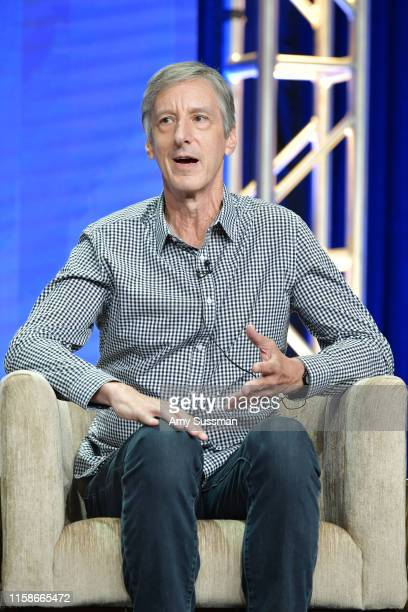 Andy Borowitz of Retro Report speaks during the 2019 Summer TCA press tour at The Beverly Hilton Hotel on July 30 2019 in Beverly Hills California