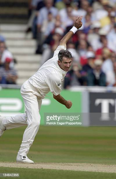 Andy Caddick England v Australia 3rd Test Trent Bridge August 2001