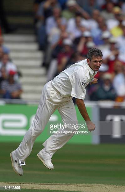 Andy Caddick England v Australia 3rd Test Trent Bridge August 2001