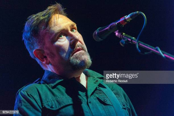 Andy Cairns of Therapy performs on stage at O2 Academy Glasgow on March 8 2018 in Glasgow Scotland