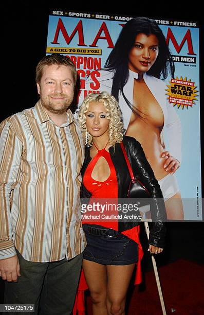Andy Clerkson General Manager of Maxim and Christina Aguilera