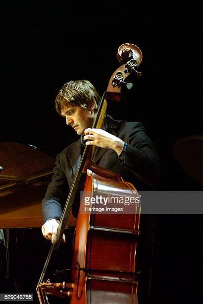 Andy Cleyndert double bassist Braithwaite Hall Croydon London Image by Brian O'Connor