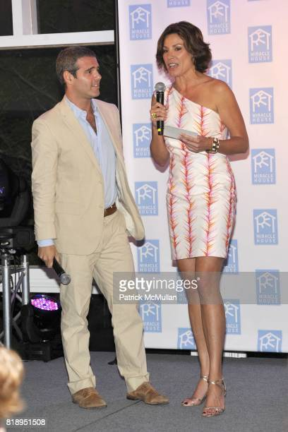 Andy Cohen and Countess LuAnn de Lesseps attend MIRACLE HOUSE 20th Anniversary Memorial Day Summer Kickoff Benefit honoring Amy Chanos and Jim Chanos...