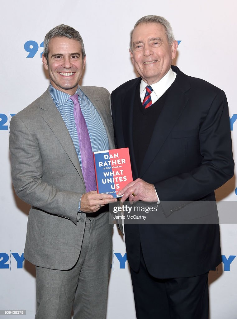 "92nd Street Y Presents Dan Rather Discussing His New Book ""What Unites Us"""