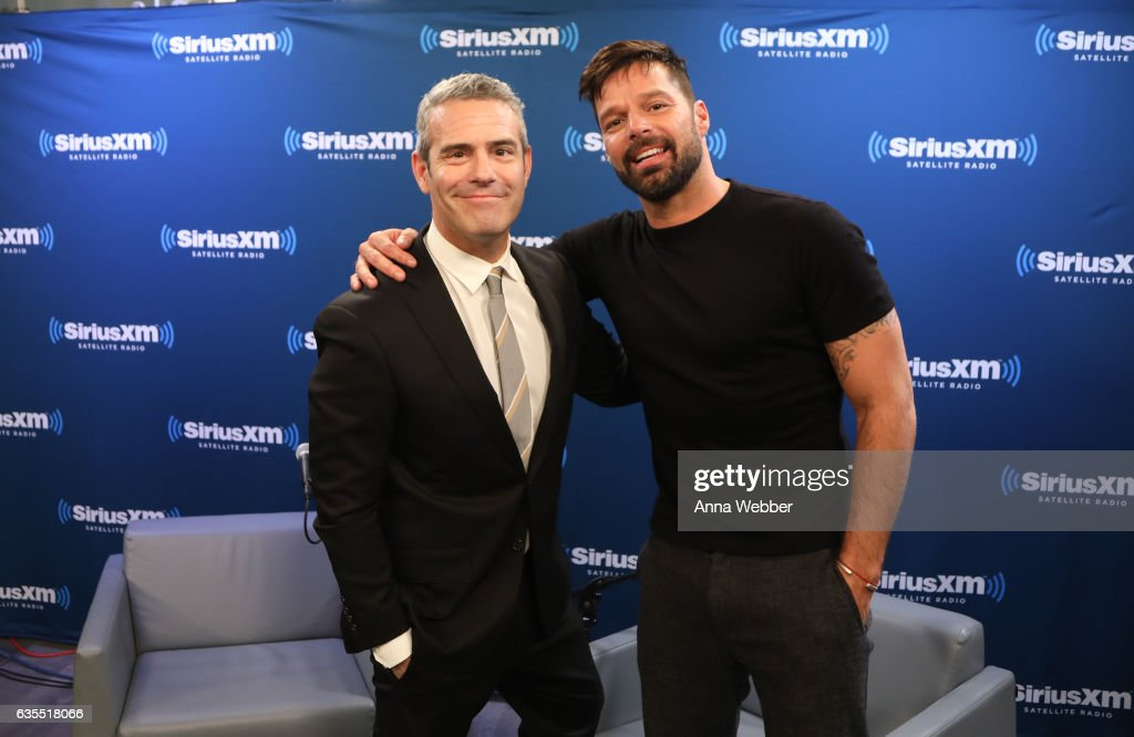 SiriusXM's 'Town Hall' With Ricky Martin; 'Town Hall' To Air On Andy Cohen's Exclusive SiriusXM Channel Radio Andy