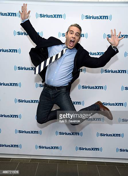 Andy Cohen announces his new SirusXM Channel at the SiriusXM Studios on March 18 2015 in New York City