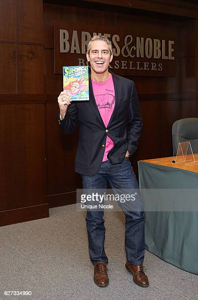 """Andy Cohen arrrives at the """"Superficial: More Adventures From The Andy Cohen Diaries"""" Book Signing at Barnes & Noble at The Grove on December 2, 2016..."""