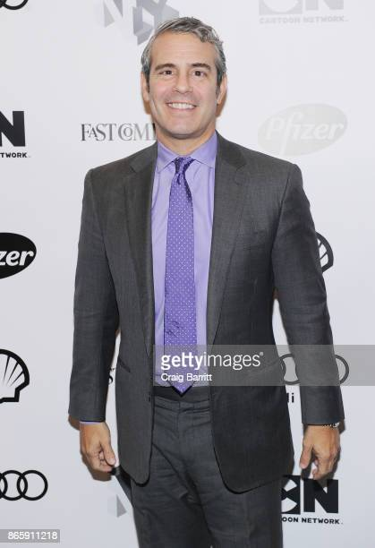 Andy Cohen attends Andy Cohen and Cecile Richards on Activism Pop Culture and Why Authenticity Is The Only Way Forward during the Fast Company...