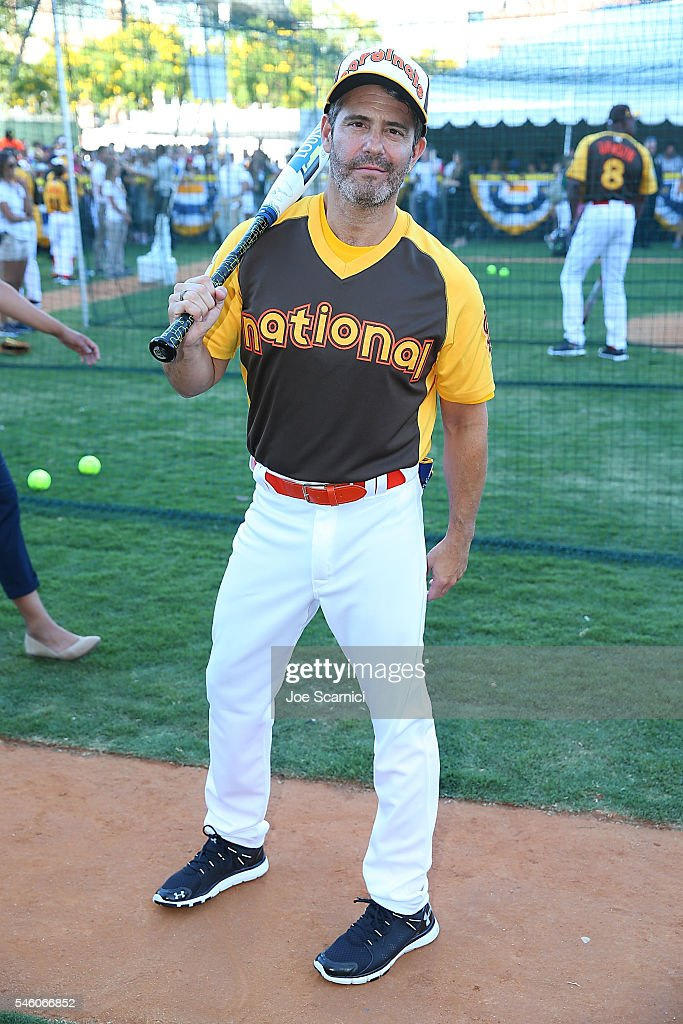Andy Cohen attends batting practice before the MLB 2016 All-Star Legends and Celebrity Softball Game at PETCO Park on July 10, 2016 in San Diego, California.