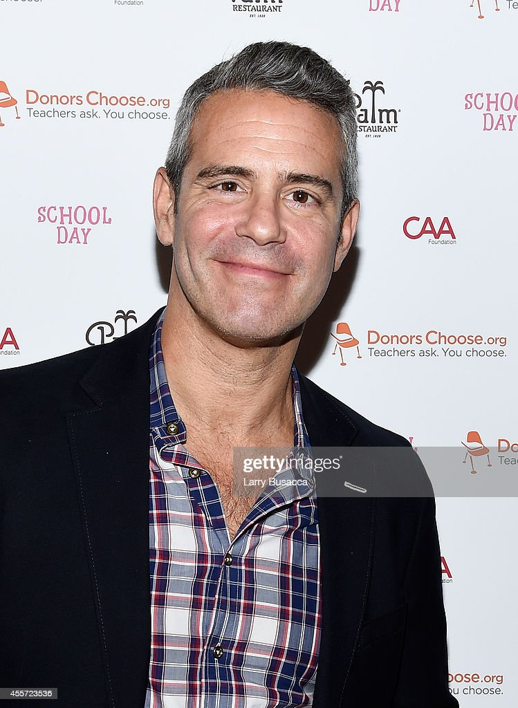Andy Cohen attends CAA Foundation's School Day event benefiting donorschoose.org at The Palm One on September 18, 2014 in New York City.