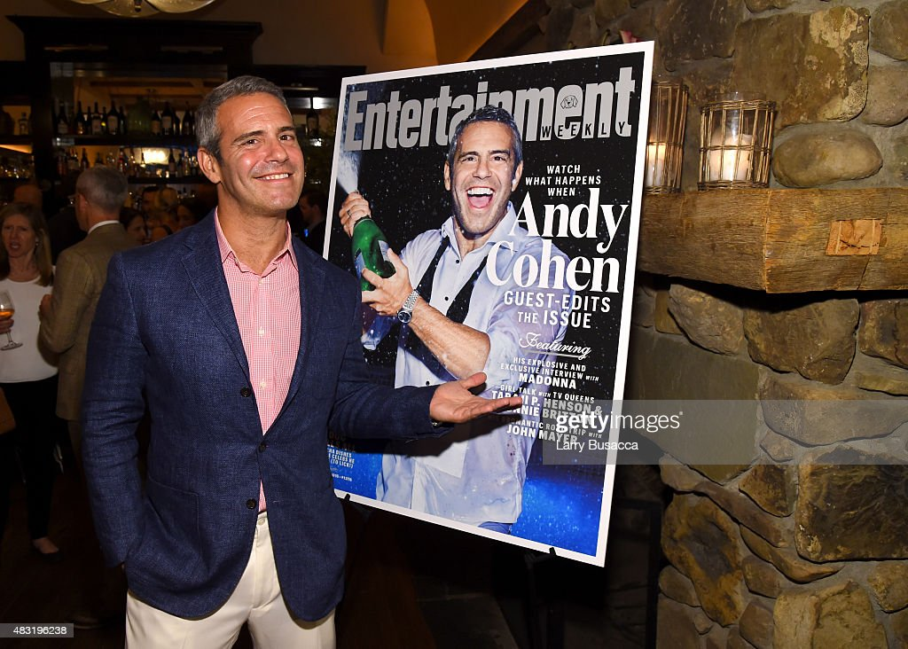 Entertainment Weekly Celebrates Guest Editor Andy Cohen