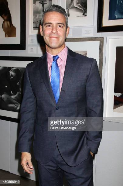 Andy Cohen attends Friends In Deed's Photographers For Friends Benefit at Dream Downtown on March 25 2014 in New York City