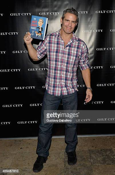 Andy Cohen attends Gilt City Celebrates The Launch Of Andy Cohen's New Book The Andy Cohen Diaries on November 23 2014 in Miami Beach Florida