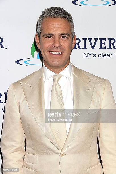 Andy Cohen attends Riverkeeper's 50th Anniversary Fishermen's Ball at Pier Sixty at Chelsea Piers on May 18 2016 in New York City
