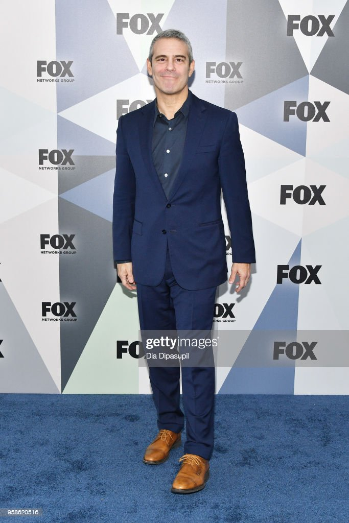 Andy Cohen attends the 2018 Fox Network Upfront at Wollman Rink, Central Park on May 14, 2018 in New York City.
