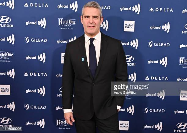 Andy Cohen attends the 30th Annual GLAAD Media Awards in partnership with Ketel One FamilyMade Vodka longstanding ally of the LGBTQ community on May...
