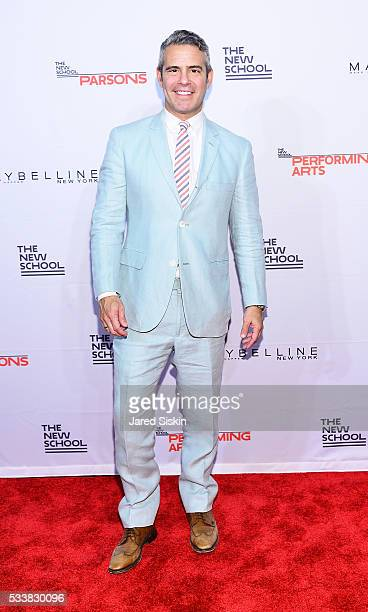 Andy Cohen attends the 68th Annual Parsons Benefit and Fashion Show at Pier Sixty at Chelsea Piers on May 23 2016 in New York City