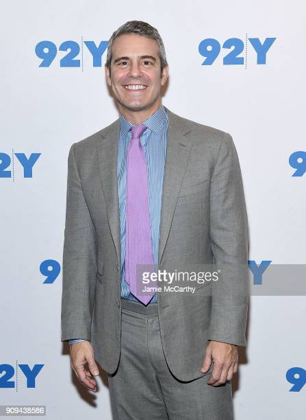 Andy Cohen attends the 92nd Street Y Presents Dan Rather Discussing His New Book 'What Unites Us' at 92nd Street Y on January 23 2018 in New York City