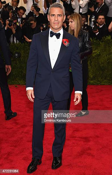 Andy Cohen attends the 'China Through The Looking Glass' Costume Institute Benefit Gala at the Metropolitan Museum of Art on May 4 2015 in New York...