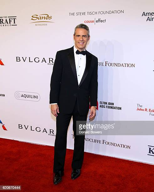 Andy Cohen attends The Elton John AIDS Foundation's 15th Annual An Enduring Vison Benefit At Cipriani Wall Street on November 2 2016 in New York City