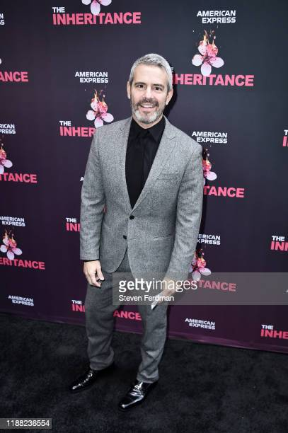 Andy Cohen attends The Inheritance Opening Night at the Barrymore Theatre on November 17 2019 in New York City