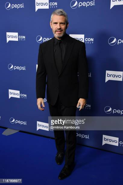 Andy Cohen attends the opening night of 2019 BravoCon at Hammerstein Ballroom on November 15 2019 in New York City