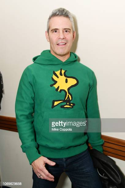 Andy Cohen attends Z100's Jingle Ball 2018 at Madison Square Garden on December 7 2018 in New York City